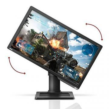 BenQ ZOWIE XL2411 60,96 cm (24 Zoll) e-Sports Gaming Monitor (Black eQualizer, 1ms Reaktionszeit, 144Hz) grau - 2