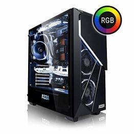 Megaport High End Gaming PC Intel Core i7-8700 • GeForce GTX1070 8GB • 250GB Samsung SSD • 16GB DDR4 • Windows 10 • WLAN • Gamer pc Computer Gaming Computer rechner - 1